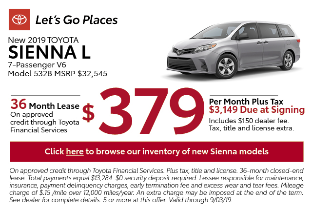 New Toyota Lease Specials New Amp Used Car Offers San